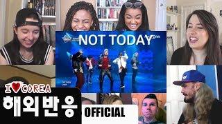 (재업)BTS Not Today' 해외반응!! Live Stage Reaction