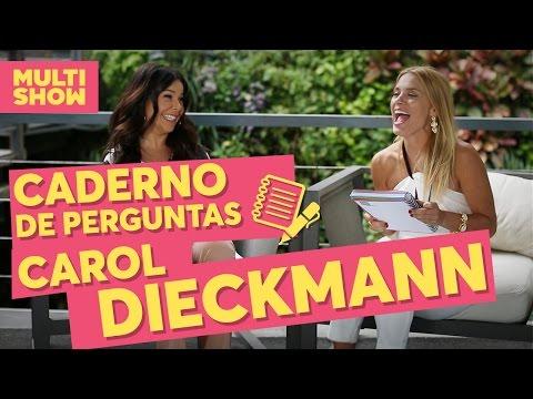 Caderno de Perguntas da Fê | Carolina Dieckmann + Fernanda Souza | Vai, Fernandinha| Multishow