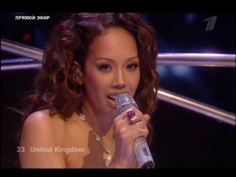 Eurovision 2009 UK Jade Ewen FINAL ( HQ Live FINAL in Moscow ) klip izle
