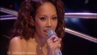 Eurovision 2009 UK Jade Ewen FINAL ( HQ Live FINAL in Moscow )