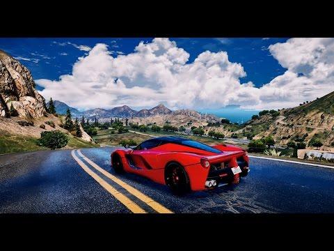► GTA 5 REDUX ✪ - Ultra Realistic Graphic ENB MOD - LaFerrari Gameplay! - 1080p 60 FPS - PC GTA V