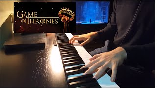 House of Black and White(piano cover) Game of Thrones Soundtrack