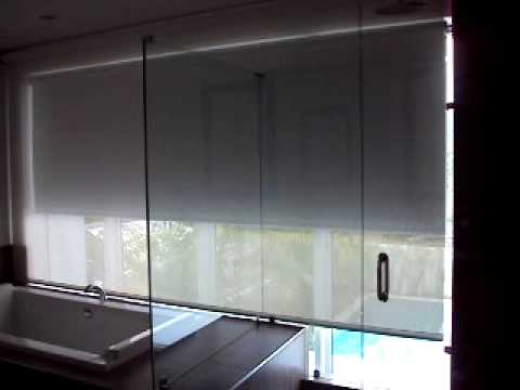for Motorized blackout roller shades