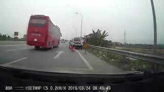CSGT Trạm Cao Bồ, Hà Nam, bắt tốc độ, đòi xem hình ảnh, kêu chờ 30p,kêu máy bắn mấy trăm ký,chửi bới