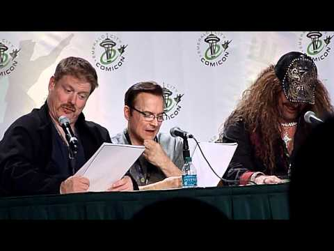Voice Actors reading Star Wars script panel clip 5