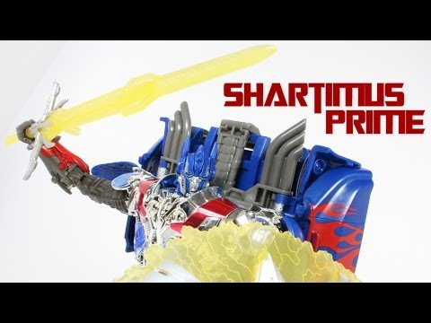 Transformers 4 Age of Extinction Optimus Prime First Platinum Edition Toy Review