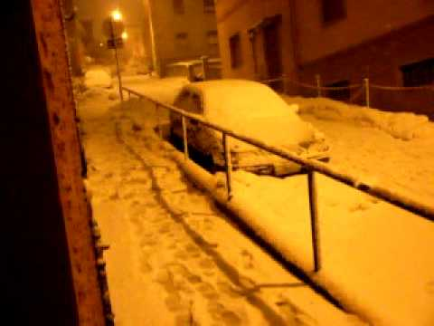 Neve ad Ancona 10/02/2012 Via Lamaticci