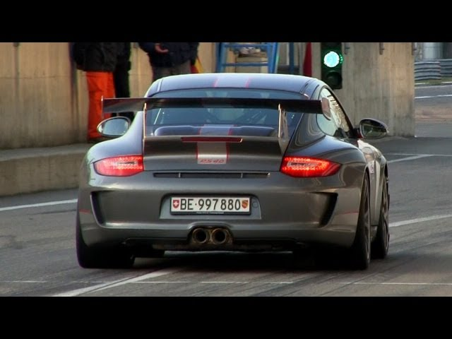 Porsche 997 GT3 RS 4.0 w/ Akrapovic Exhaust SOUND