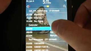 16 Minute Walkthrough of BlackBerry OS 6 on BlackBerry 9800 [Part 1] (Chinese)