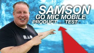 Samson Go Mic Mobile Wireless Microphone for iPhone & Android Smart Phones