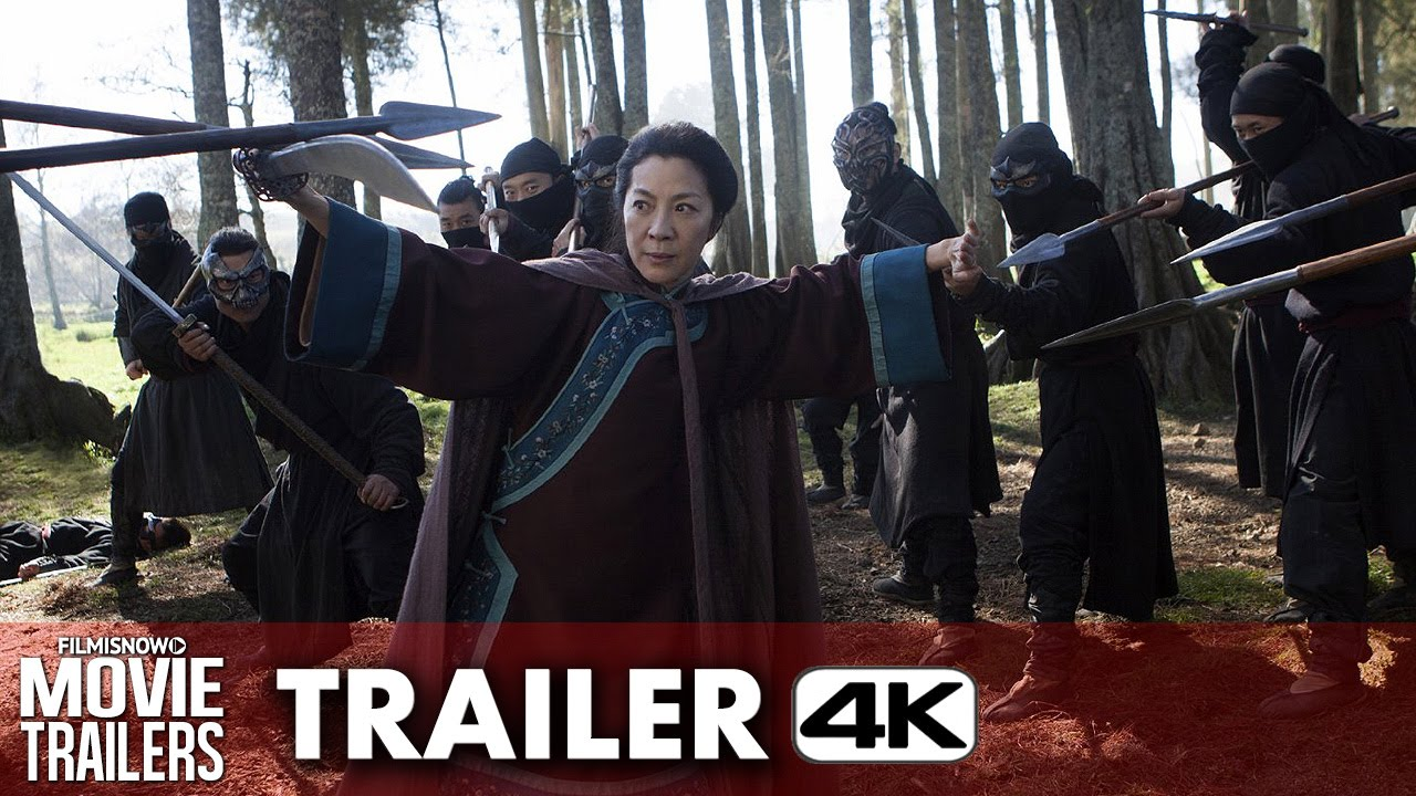 Crouching Tiger, Hidden Dragon: Sword of Destiny Official Trailer - 4K Ultra HD