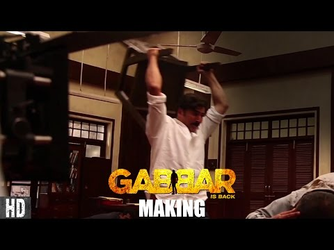 The making of Gabbar Ki Kursi! Starring Akshay Kumar & Shruti Haasan! In Cinemas Now