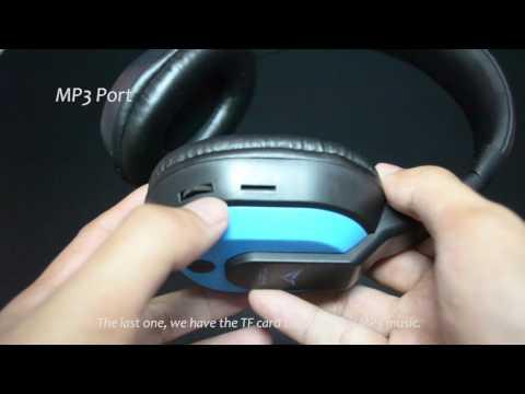 Review 300  Alcatroz Bluetooth headphone (Budget Headphone)