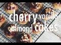 VEGAN CHERRY VANILLA ALMOND CAKES | hot for food