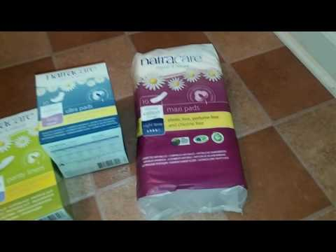 Natracare Review - Pads Tampons Liners