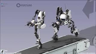 Portal 2 Coop : On brûle nos cerveaux :c (part1)