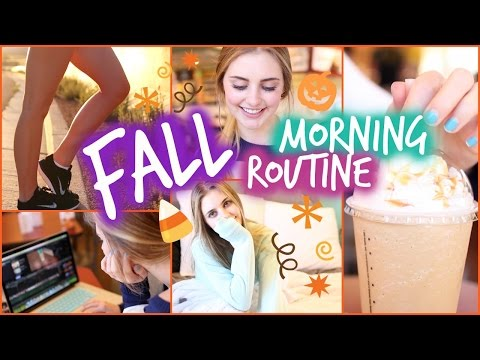 Fall Morning Routine! | Aspyn Ovard