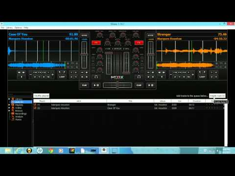 How To Use  Free DJ Software Mixxx For DJ's
