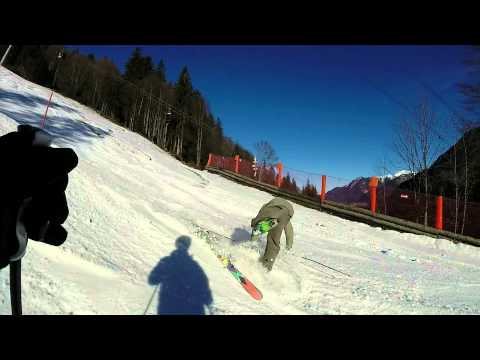 GoPro Hero 3+ Silver Edition Skiing at the mountains