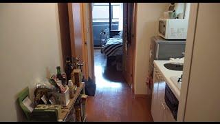 Japan Apartment Tour - Studio in Kagurazaka Tokyo
