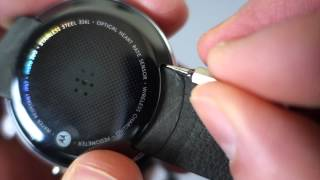 How to:  Change Moto 360 Watch Bands