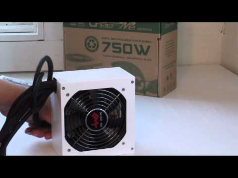 Product Showcase In~Win GreenMe 750 Watt Power Supply