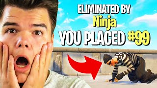 Playing FORTNITE For The First Time In 6 MONTHS! (Battle Royale)