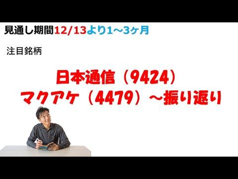 【株式投資】注目銘柄! 5G関連銘柄に追い風? 本日上昇した日本通信の分析とマクアケを振り返ってみた