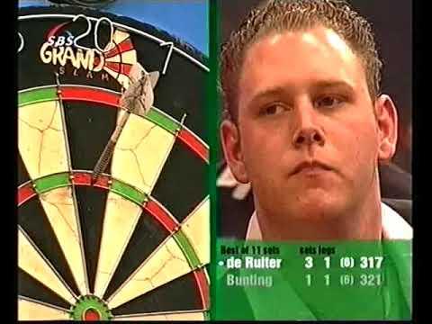 Bunting vs de Ruiter Darts International Darts League 2005 Last 16