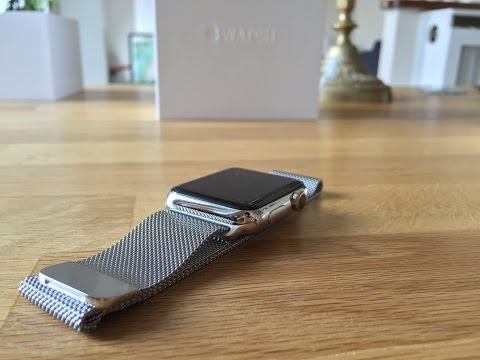 [Unboxing] Apple Watch Inox Stainless Steel 42mm (Milanese Loop / Boucle Milanaise)