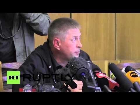 Ukraine: Military observers held for spying, says Slavyansk leader