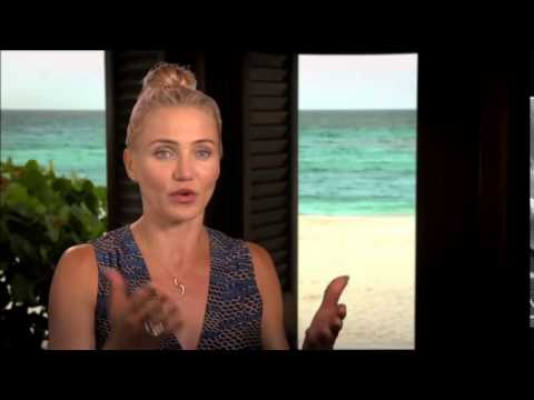 The Other Woman 2014 Interview with Sexy Cameron Diaz - Cameron Diaz, Kate Upton, Leslie Mann