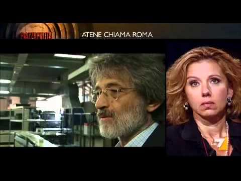 Piazzapulita – 20/10/11 Atene chiama Roma