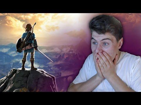 Zelda: Breath of the Wild Switch Trailer 2017 REACTION