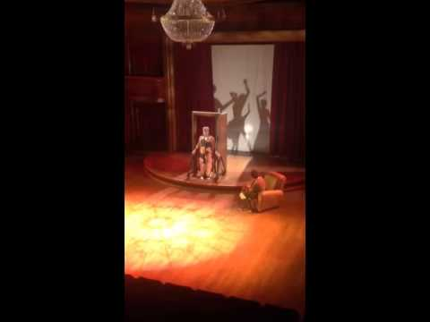 Triad Stage - Five minutes of tech in 30 seconds! Don't we all wish tech rehearsals went this quickly?