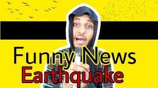 AS di Kalolan- || Reporter news || Funny news. Earthquake ( best of vine)