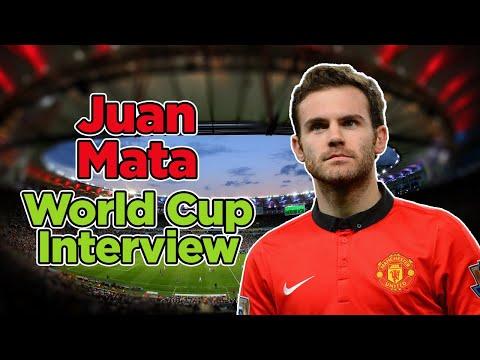 Juan Mata World Cup 2014 video interview