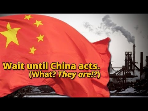 Wait Until China Acts. What? They Are?!