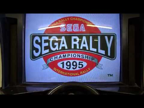 Sega Rally Championship Retro Arcade Game Arcadia Amusements Ryde June 2018 kittikoko