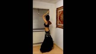 Belly Dance on Ishq Shava
