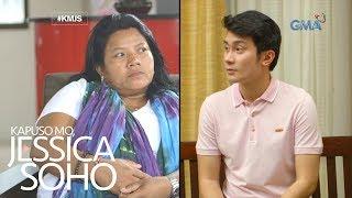 Kapuso Mo, Jessica Soho: Panawagan ni Justin sa kanyang tunay na ina