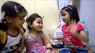 2 Kids Singing Very nice Poem in Hindi