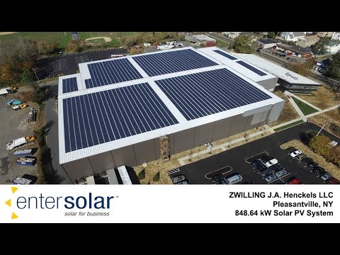 EnterSolar Photovoltaic System - Zwilling J.A. Henckels