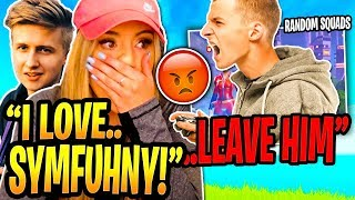 Brooke DEFENDS Symfuhny After a Kid ROASTS Sym's Editing! (RANDOM SQUADS)