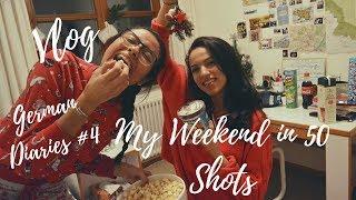 German Diaries #4 (Vlog) : My Weekend in 50 Shots (University Campus, Christmas Market...)