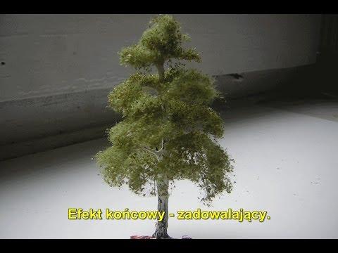 Budowa Makiety - Jak Zrobić Drzewko Na Makietę Kolejową