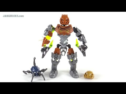 LEGO Bionicle Pohatu Master of Stone review! set 70785