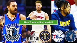 NBA Trade Machine: Steven Adams, Blake Griffin, D'Angelo Russell