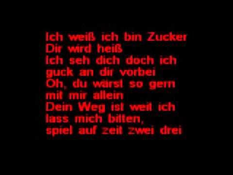 Peter fox  ZUCKER    Lyrics