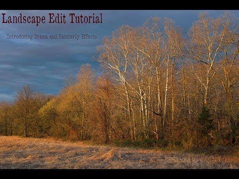 Landscape Photoshop Tutorials Photoshop Landscape Edit